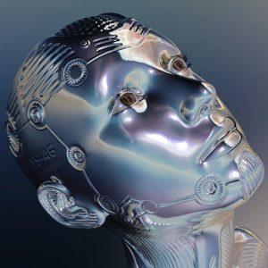 A photo of a robot.